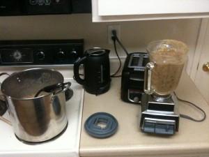Pot and Blender