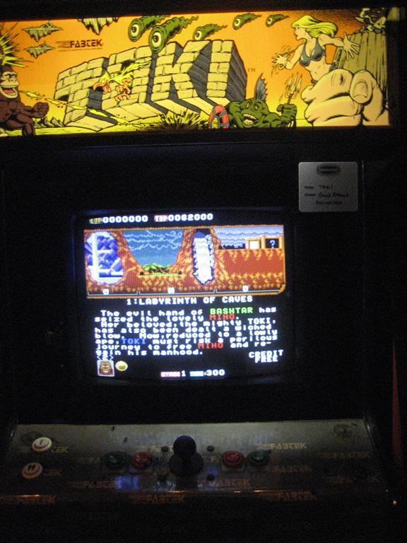 Toki Arcade Image
