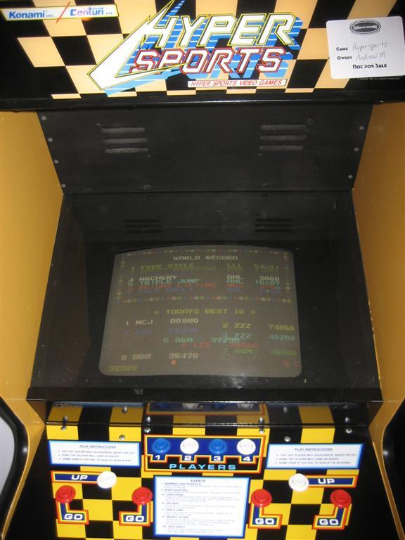 Hyper Sports Arcade
