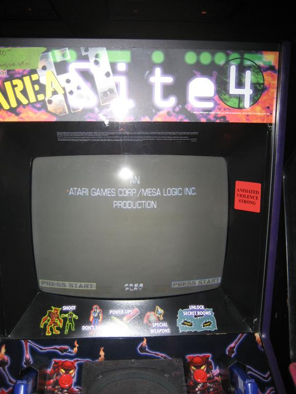 Area 51 Standup Arcade