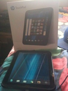 HP Touchpad Pic