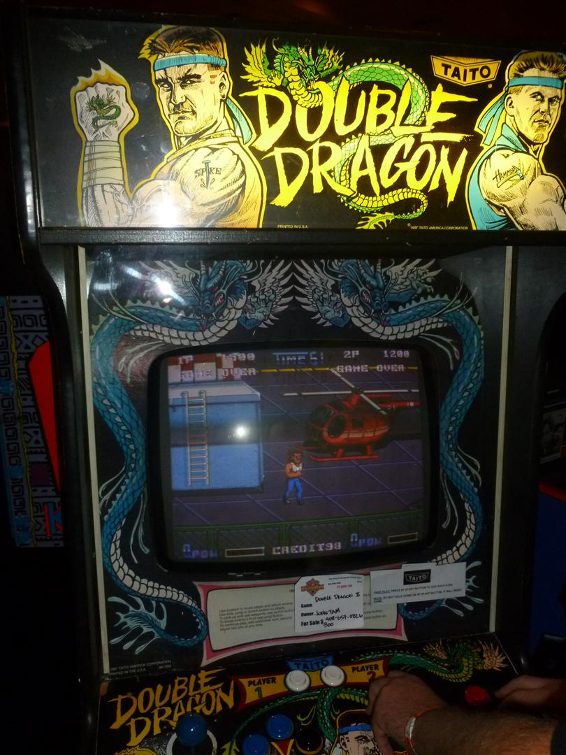 double dragon arcade machine