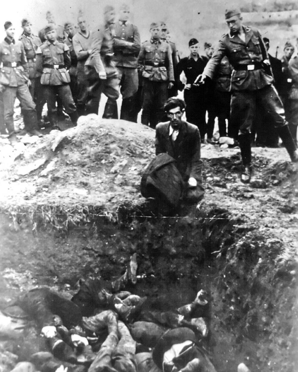 Murder of the last  Jew in Vinnitsa (1941)