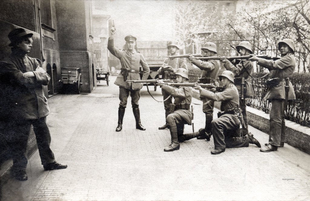 Execution of a German Communist in Germany (1919)