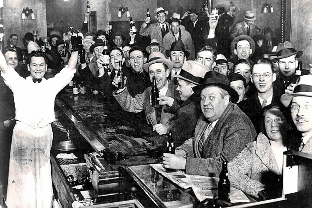 Cheers! Prohibition ends Dec 5th 1933