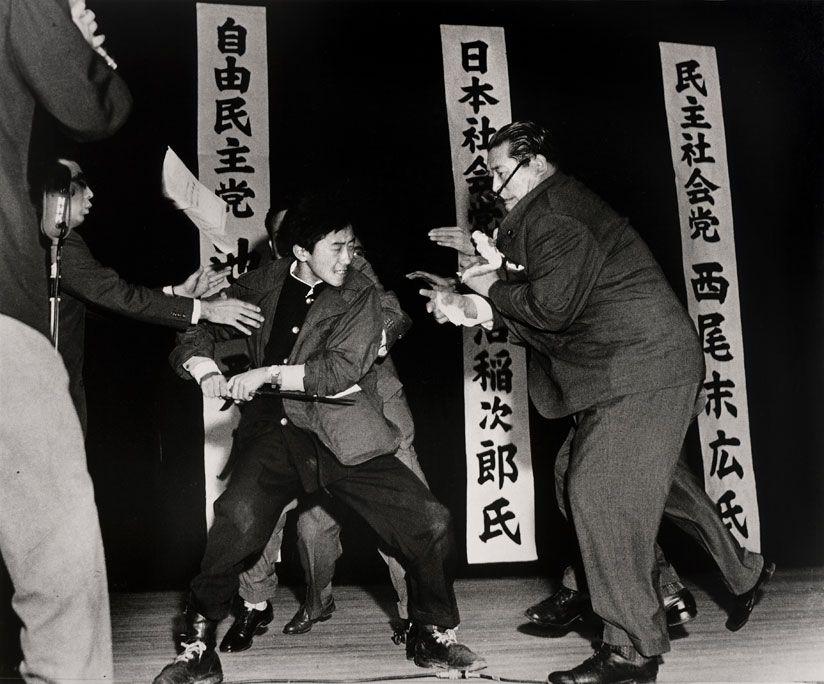 17-year-old Otoya Yamaguchi assassinates socialist politician Inejiro Asanuma in Tokyo