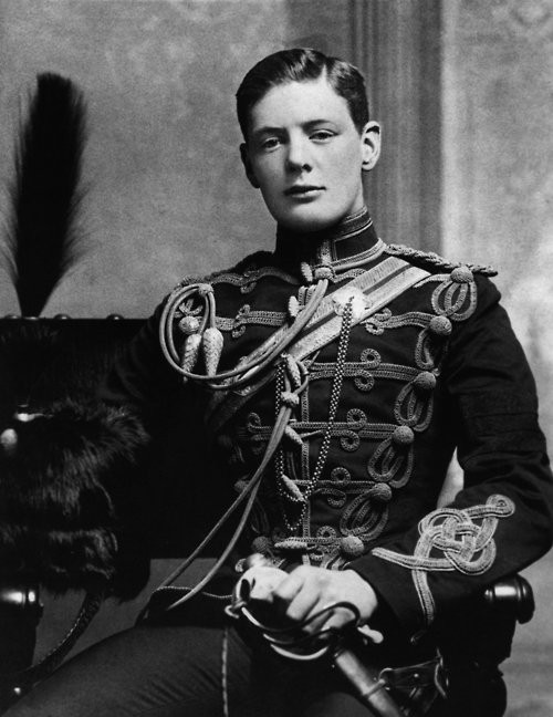 Young Winston Churchill (1895)