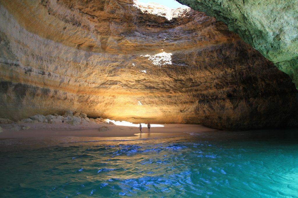 Algarve Cave Benagil Beach Portugal