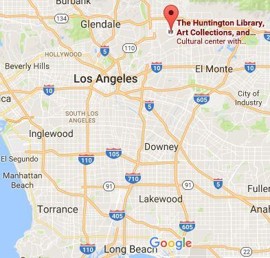 huntington-libary-location